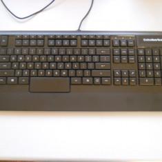 Tastatura Iluminata Gaming SteelSeries Apex Raw. - Tastatura PC Steelseries, Cu fir, USB