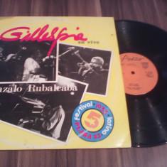 VINIL DIZZY GILLESPIE/GONZALO RUBALCABA FESTIVAL JAZZ LATINO PLAZA 85 DISCAREITO - Muzica Jazz