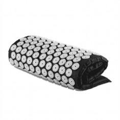 Capital Sports Relax Yantramatte, negru, 70x40cm, covoraș cu presopunctură pentru masaj - Husa masaj