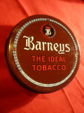 Cutie metal pentru Tutun Irlanda - Barneys Tobacco , d= 9,5 cm