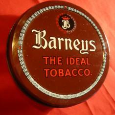 Cutie metal pentru Tutun Irlanda - Barneys Tobacco, d= 9, 5 cm