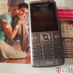 Sony Ericsson K610i la cutie - 79 lei - Telefon mobil Sony Ericsson, Gri, Nu se aplica, Neblocat, Fara procesor