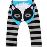 Pantaloni din bumbac cu model raton, 12-18 luni, 9-12 luni