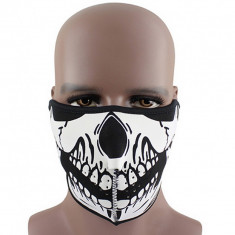 Masca fata craniu cu scai, moto, iarna, ski, snowboard, ciclism, atv cagula