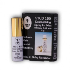 STUD 100 spray contra ejacularii precoce - Stimulente sexuale, Intarzierea ejacularii