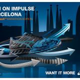 Adidasi Asics FuzeX T61TQ-9043 Barcelona Marato 2016 nr. 40 si 40,5