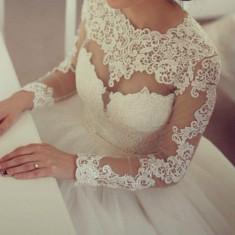Rochie Mireasa Natalia Vasiliev, Voal si Crinolina, Rochii de mireasa printesa