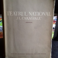 TEATRUL NATIONAL I.L.CARAGIALE. MONOGRAFIE - SIMION ALTERESCU, FLORIN TORNEA - Carte Monografie