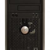 Calculator DELL Optiplex 780 Tower, Intel Core 2 Duo E8400 3.0 GHz, 4 GB DDR3, 250 GB HDD SATA, DVDRW, Windows 10 Home, 3 Ani Garantie - Sisteme desktop fara monitor