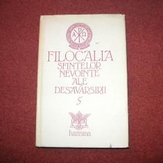 Filocalia Sfintelor Nevointe [ Vol. 5 ] - Harisma -1995 - Carti ortodoxe