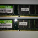 Kit Memorie 2 x 1 GB DDR1 /Corsair 400 Mhz / PC-3200U /Dual (14C)