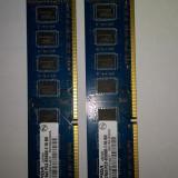 Kit 2 x 2 Gb DDR3 / 1066 Mhz PC3-8500U / DUal Chanell Elpida (19A) - Memorie RAM, 4 GB, Dual channel
