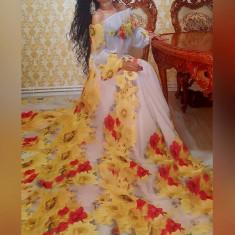 Vand rochie de ocazie purtata o singura data - Rochie de seara sexy woman, Marime: 38, Culoare: Gri