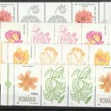 Romania, Flora serii cu viniete, nr lista 1466a. - Timbre Romania, Nestampilat