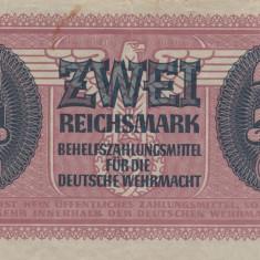Germania 2 Reichsmark ND 1942 Wehrmacht P. M37 VF - bancnota europa