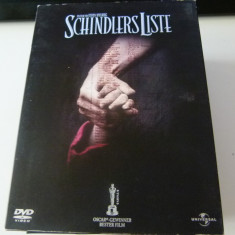Schindler liste - dvd - Film Colectie independent productions, Engleza