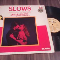 DISC VINIL SLOWS MICHEL MAGNE ET SON GRAND ORCHESTRE COLLECTION OR 1978 STARE FB - Muzica Jazz