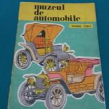 MUZEUL DE AUTOMOBILE* CARTE DE COLORAT/THEODORA FLOREA/ 1979