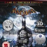 Batman Arkham Asylum Game Of The Year Edition Ps3 - Jocuri PS3 Square Enix