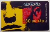 ROMANIA CARTELA ALO GSM 130 UNITATI - PENTRU COLECTIONARI **