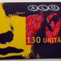 ROMANIA CARTELA ALO GSM 130 UNITATI - PENTRU COLECTIONARI ** - Cartela GSM