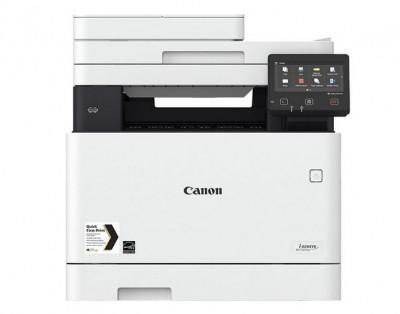Multifunctionala laser color Canon i-Sensys MF735CX A4 WiFi Alb foto
