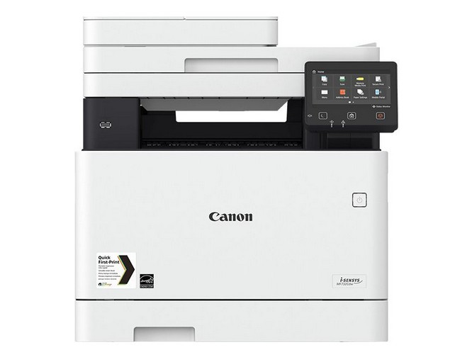 Multifunctionala laser color Canon i-Sensys MF735CX A4 WiFi Alb foto mare