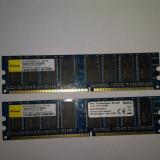 Memorie Ram 2 x 1 Gb DDR1 / PC-3200U / 400 Mhz Elixir  (26E)