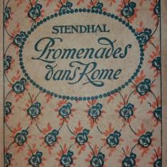 STENDHAL – PROMENADES DANS ROME