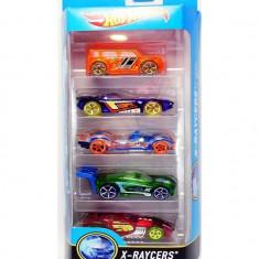 Jucarie Hot Wheels X-Raycers Cars Set Of 5 - Masinuta Mattel