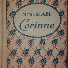 MME DE STAEL – CORINNE OU L'ITALIE