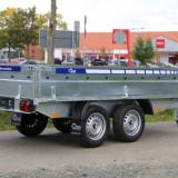 Remorca Platforma 750 kg Cu 2 Axe Si Dimensiune Utila 250x150 cm - Utilitare auto
