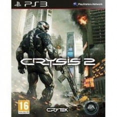 CRYSIS 2 - PS 3  [Second hand], Shooting, 18+, Single player