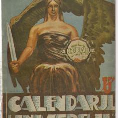 CALENDARUL ZIARULUI UNIVERSUL PE ANUL 1945