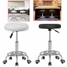 Scaun cosmetica coafor frizerie taburet mobilier dotari saloane manichiura