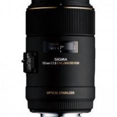 Obiectiv foto Sigma 105mm F2.8 EX DG OS HSM Macro, montura Nikon F - Obiectiv DSLR