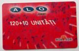 ROMANIA CARTELA ALO GSM 120 +10 UNITATI - PENTRU COLECTIONARI **