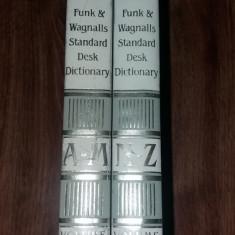 FUNK & WAGNALLS STANDARD DESK DICTIONARY – 2 VOLUME (A-Z)