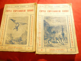 Jules Verne- Copiii Capitanului Grant-vol.1 si 2  Ed.Cugetarea cca 1940