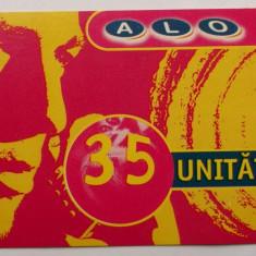 ROMANIA CARTELA ALO 35 UNITATI - PENTRU COLECTIONARI ** - Cartela GSM
