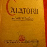 C.Golescu- Calatorii -cca.1936-Tipografiile Romane Unite, publicata V.Hanes - Carte de calatorie