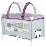 Patut pliabil Ariel Purple Chipolino - Patut pliant bebelusi
