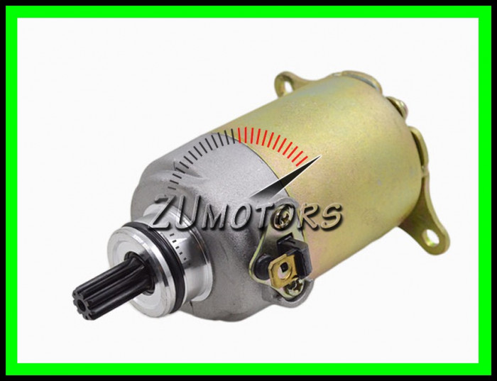 ELECTROMOTOR Scuter Chinezesc Gy6 4T  9 Dinti 125 150