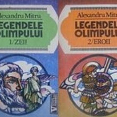 Legendele Olimpului (2 vol: Zeii + Eroii) de Alexandru MItru - Carte mitologie