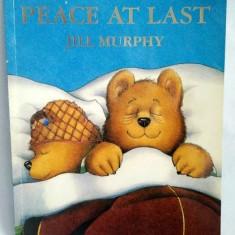 Peace at Last, Jill Murphy, carte pt copii, in limba engleza, ilustratii superbe - Carte in engleza
