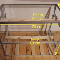 Cadru rig minare pentru 13-14 placi video( Rig Frame Open Air Case ) - Carcasa PC