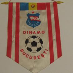 Fanion fotbal DINAMO BUCURESTI (starea care se vede)
