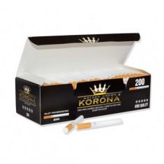 Tuburi tigari KORONA - 200 buc. la cutie pentru injectat tutun
