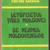 Miron Costin-Letopisetul Tarii Moldovei