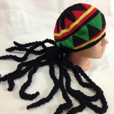 RASTA COZI Jamaica Caciula UNISEX (sapca fes chipiu) Bob Marley che guevara - Fes Barbati, Marime: Marime universala, Culoare: Din imagine